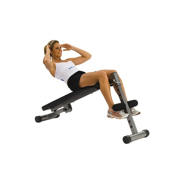 B infiniti ab flat bench fitness equipment
